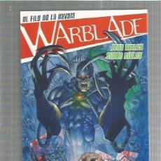 Cómics: WARBLADE EL FILO DE LA NAVAJA. Lote 206812628