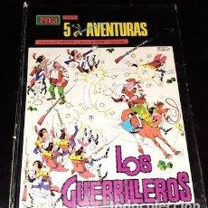 Cómics: 5 AVENTURAS, LOS GUERRILLEROS, COL. TRINCA, ED. DONCEL, 1970. Lote 187430095