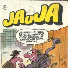 Cómics: JAUJA Nº 10. EDITORIAL DRUIDA. C-14. Lote 187519856