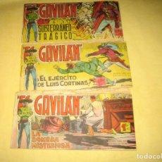 Cómics: GAVILAN - LOTE DE 3 TBOS , NUMEROS 3,4,5. Lote 187533835