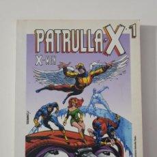 Cómics: MARVEL COMICS - PATRULLA X X-MEN BIBLIOTECA EL MUNDO GRANDES HÉROES DEL CÓMIC LIBRO 1. Lote 187539892