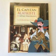 Cómics: EL CAPITÁN ALATRISTE DE ARTURO PÉREZ REVERTE Y LA ESPAÑA DEL SIGLO DE ORO - EL PAÍS - COMPLETO. Lote 187938453