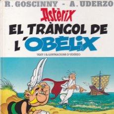 Cómics: COLECCION ASTERIX EL TRANGOL DE L'OBELIX EDITORIAL SALVAT. Lote 187965641
