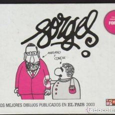 Cómics: FORGES, LOS MEJORES DIBUJOS PUBLICADOS EN EL PAÍS 2003, EDICIONES EL JUEVES. Lote 184432087
