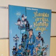 Cómics: TOMO TAPA DURA RAMBLA ARRIBA, RAMBLA ABAJO... CARLOS GIMENEZ - GLENAT - OFERTA. Lote 188504855