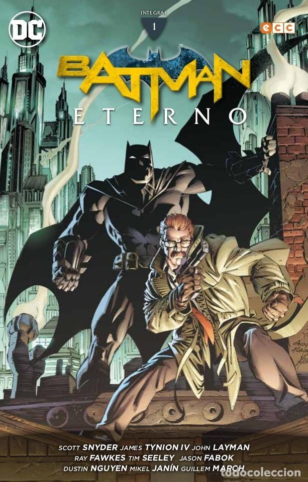 BATMAN ETERNO INTEGRAL 1 - ECC / DC TAPA DURA / NUEVO DE EDITORIAL (Tebeos y Comics - Comics otras Editoriales Actuales)