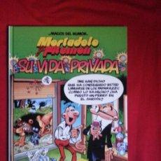 Cómics: SU VIDA PRIVADA - MORTADELO Y FILEMON - MAGOS DEL HUMOR. Lote 189213405