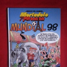 Cómics: MUNDIAL 98 - MORTADELO Y FILEMON - MAGOS DEL HUMOR. Lote 189214470