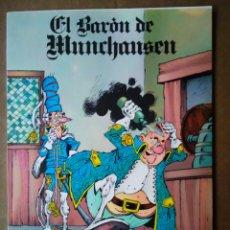 Cómics: EL BARÓN DE MUNCHAUSEN, POR CARLOS A. CORNEJO Y CHIQUI DE LA FUENTE (BUSMA, 1981). CLASICÓMICS N°4. Lote 189292253