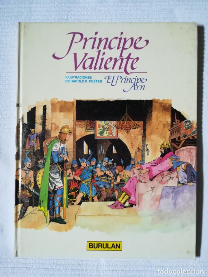 PRÍNCIPE VALIENTE -EL PRÍNCIPE ARN- BURULAN 1983, TAPA DURA (Tebeos y Comics - Buru-Lan - Principe Valiente)