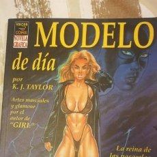 Cómics: MODELO DE DÍA. DE K. J. TAYLOR. ED. LA CÚPULA.. Lote 189379933