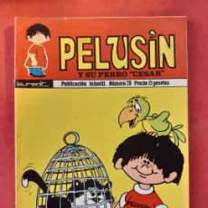 Cómics: PELUSIN Nº 28 EUREDIT 1974 ORIGINAL EXCELENTE ESTADO. Lote 189411867