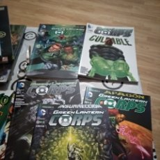 Cómics: GREEN LANTERN CORPS ECC TOMOS 1 A 5. Lote 189455102