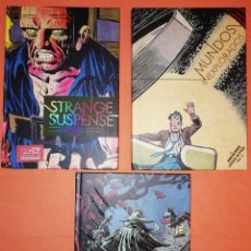 Cómics: LOS ARCHIVOS DE STEVE DITKO 1, 2, 3 COLECCIÓN COMPLETA - DIÁBOLO EDICIONES - CARTONÉ.. Lote 189570480