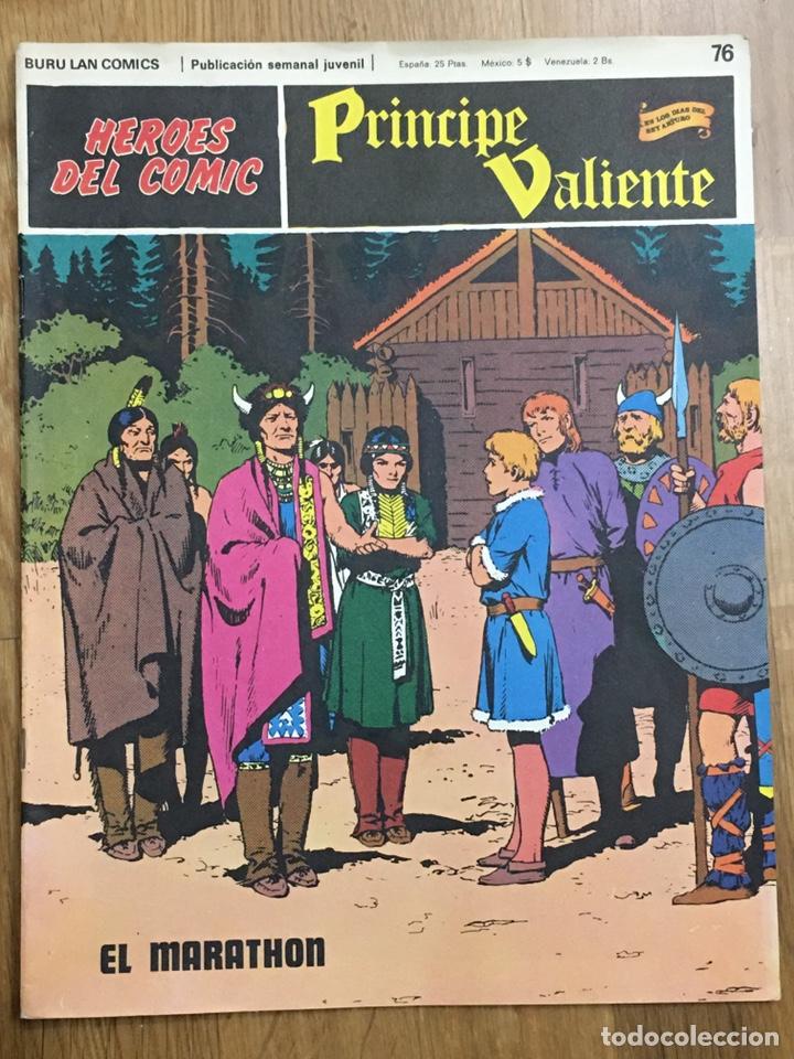 Cómics: PRINCIPE VALIENTE - COLECCIÓN COMPLETA - HAROLD FOSTER - 1ª EDICION 1972. BURULAN LAN COMIC - Foto 2 - 189573148
