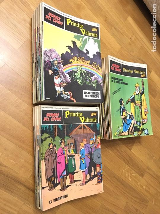 PRINCIPE VALIENTE - COLECCIÓN COMPLETA - HAROLD FOSTER - 1ª EDICION 1972. BURULAN LAN COMIC (Tebeos y Comics - Buru-Lan - Principe Valiente)