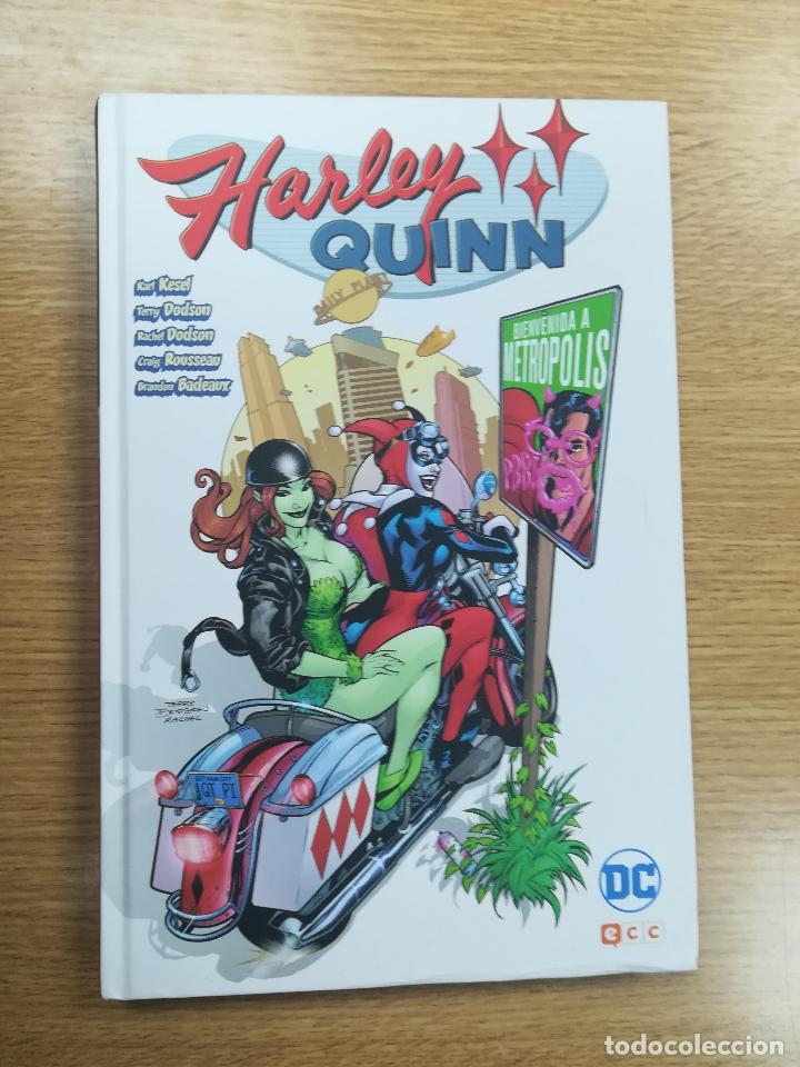 HARLEY QUINN BIENVENIDA A METROPOLIS (ECC EDICIONES) (Tebeos y Comics - Comics otras Editoriales Actuales)