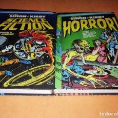 Cómics: SIMON & KIRBY. SCIENCE FICTION & HORROR. DOS VOLUMENES. EDICIONES DIABOLO.. Lote 189633765