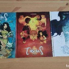 Cómics: TAXUS (COMPLETA), DE DOLMEN (ISAAC SANCHEZ (LOULOGIO)). Lote 189640686