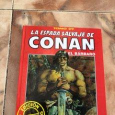 Cómics: LA ESPADA SALVAJE DE CONAN EL BÁRBARO. Lote 189945666