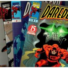 Comics: DAREDEVIL - EL HOMBRE SIN MIEDO - TOMOS 1 AL 4 COMPLETA. FORUM,1998. PERFECTA.. Lote 190011867