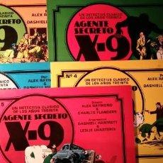 Comics: AGENTE SECRETO X-9 UN DETECTIVE CLASICO DE LOS AÑOS 30. COMPLETA. RAYMOND Y HAMMETT. ED. ESEUVE.. Lote 190078178