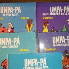 Cómics: UMPA-PÁ. COMPLETA. 5 NºS. POR GOCINNY Y UDERZO. EDICIONES AKAL 1989-1990. TAPA DURA.. Lote 190079076