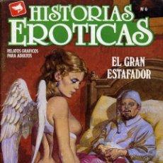 Cómics: HISTORIAS ERÓTICAS - EDICOMIC / NÚMERO 6. Lote 190136928