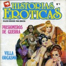 Cómics: HISTORIAS ERÓTICAS - EDICOMIC / NÚMERO 1. Lote 190137006
