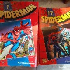 Cómics: SPIDERMAN. COLECCIONABLE ROJO. 1 AL 50 COMPLETO.. Lote 190147246