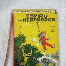 Cómics: LAS AVENTURAS DE ESPIRU Y FANTASIO Nº 0 - ESPIRU Y LOS HEREDEROS - JAIMES LIBROS - LOMO A REPARAR. Lote 190158371