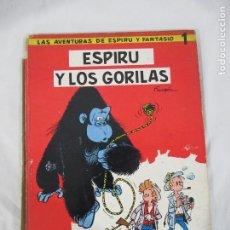 Cómics: LAS AVENTURAS DE ESPIRU Y FANTASIO Nº 1 - ESPIRU Y LOS GORILAS - JAIMES LIBROS - LOMO A REPARAR. Lote 190158466