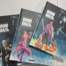 Cómics: BRUNO BRAZIL INTEGRAL TOMOS 1 A 3 (WILLIAM VANCE / GREG) PONENT MON, 2013. OFRT. Lote 221568558