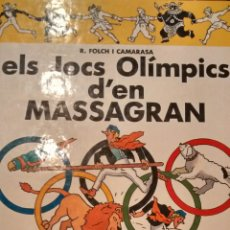 Cómics: ELS JOCS OLIMPICS D´EN MASSAGRAN DE R. FOLCH I CAMARASA (CASALS). Lote 190769285