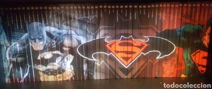 51 TOMOS BATMAN Y SUPERMAN DC COMICS SALVAT (Tebeos y Comics - Comics Colecciones y Lotes Avanzados)