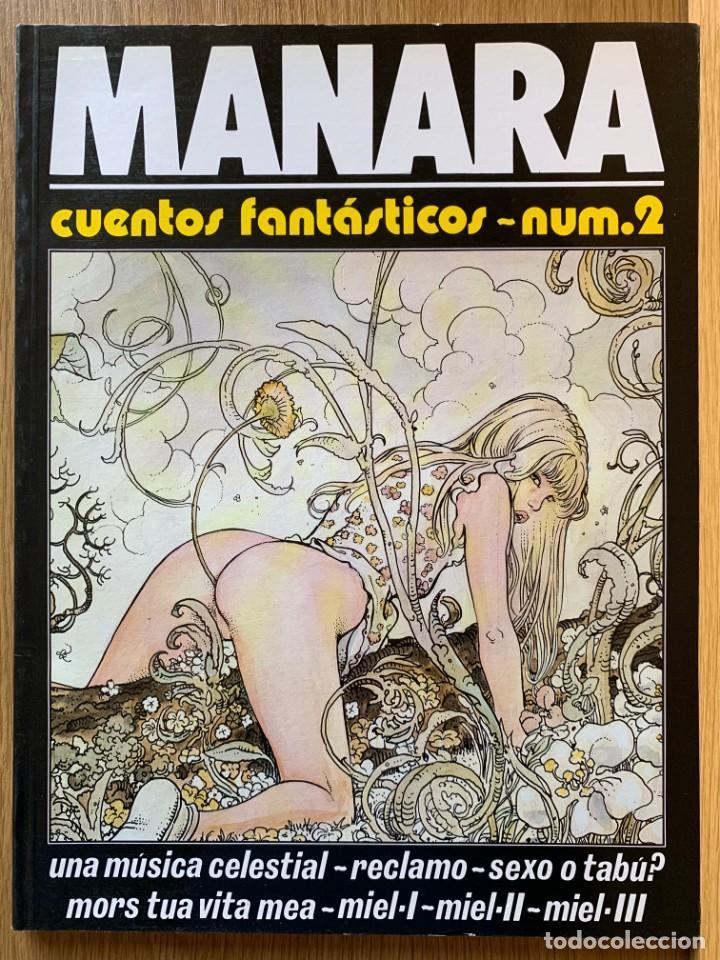 MILO MANARA - CUENTOS FANTASTICOS 2 - 1990 (Tebeos y Comics Pendientes de Clasificar)