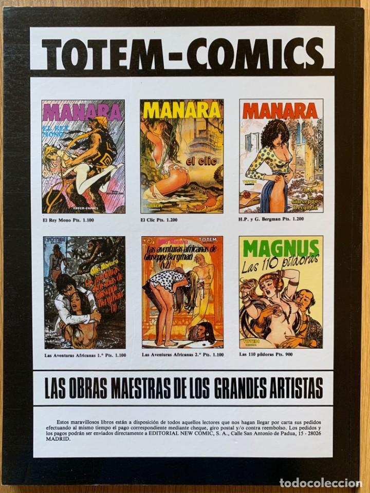 Cómics: MILO MANARA - CUENTOS FANTASTICOS 2 - 1990 - Foto 2 - 190908586