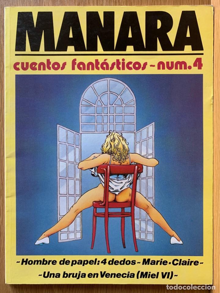 MILO MANARA - CUENTOS FANTASTICOS 4 - 1990 (Tebeos y Comics Pendientes de Clasificar)