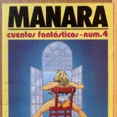 Cómics: MILO MANARA - CUENTOS FANTASTICOS 4 - 1990. Lote 190908710