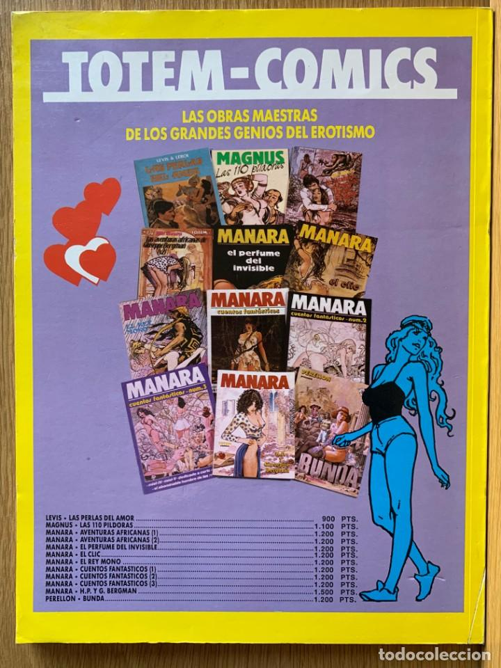 Cómics: MILO MANARA - CUENTOS FANTASTICOS 4 - 1990 - Foto 2 - 190908710