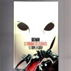 Cómics: BATMAN : EL TRIBUNAL DE LOS BUHOS - ECC / DC EDICIÓN DELUXE CON FUNDA IMPRESA / SNYDER & CAPULLO. Lote 191015562