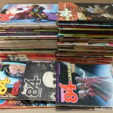 Comics : ZONA 84. LOTE DE 95 NºS. + 3 ALMANAQUES + 5 ESPECIALES + FORJA 84. TOUTAIN. LEER. Lote 191233068