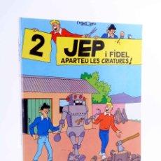 Cómics: JEP I FIDEL 2. APARTEU LES CRIATURES (JOSEP MARÍA MADORELL) CASALS, 1989. OFRT ANTES 11,5E. Lote 206846195