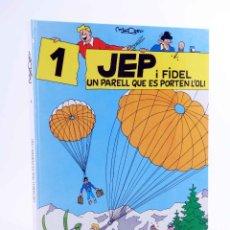 Cómics: JEP I FIDEL 1. UN PARELL QUE ES PORTEN L'OLI (JOSEP MARÍA MADORELL) CASALS, 1989. OFRT ANTES 11,5E. Lote 206846191