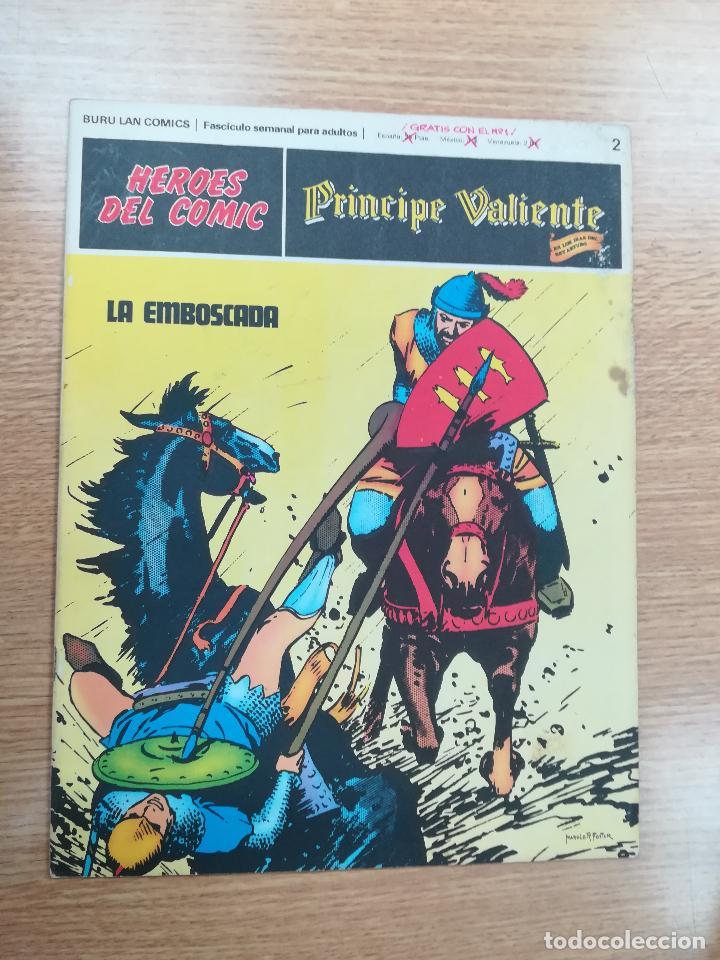 PRINCIPE VALIENTE #2 (Tebeos y Comics - Buru-Lan - Principe Valiente)
