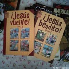 Cómics: JESÚS VENDITO Y JESÚS VUELVE. Lote 191318353