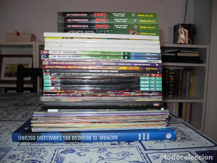 LOTE 45 COMICS NOVELAS GRAFICAS MARVEL DC NEXUS BATMAN DARK KNIGHT ABSOLUTE ACCESO ILIMITADO ETC (Tebeos y Comics - Comics Colecciones y Lotes Avanzados)