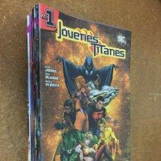 Cómics: JÓVENES TITANES VOL. 1. COMPLETA, 19 NÚMEROS. Lote 191480873