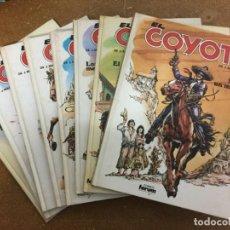 Cómics: EL COYOTE (FORUM, 1983) - COLECCIÓN COMPLETA DE 8 ÁLBUMES. Lote 191481071