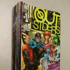 Cómics: OUTSIDERS VOL. 1 - COMPLETA, 20 NÚMEROS. Lote 191482903